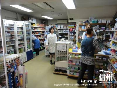 篠ノ井総合病院の売店