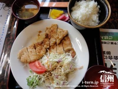 生姜焼き定食(750円)