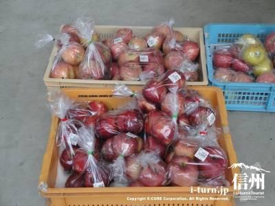 小布施ハイウェイオアシス直売所のりんご
