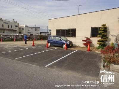 支那そばの凱歌の駐車場