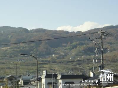それらしい山が見えてきました