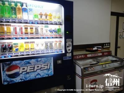 アイスと自販機