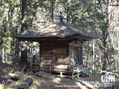 正福寺の岩上観音堂