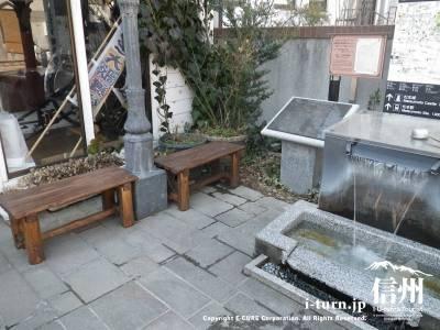 井戸ベンチ