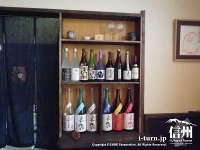 店内日本酒