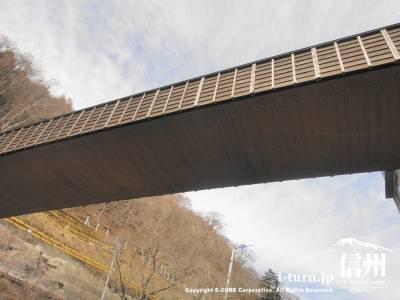 下から見上げた橋