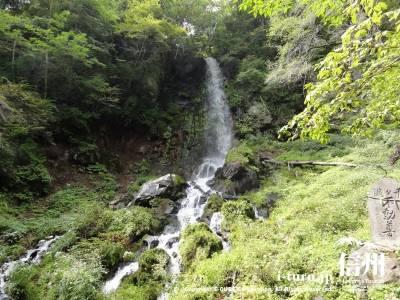千ケ滝の滝壷Ⅰ全景