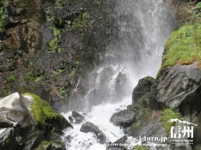 千ケ滝の滝壷Ⅳ滝壺のアップ