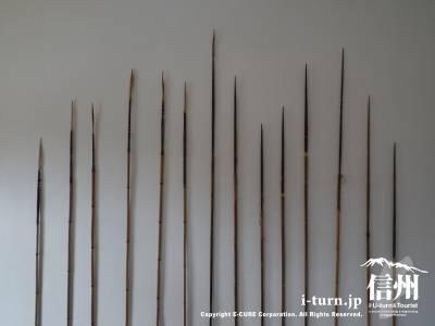 木彫りの矢
