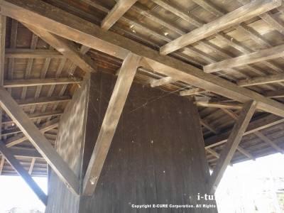 屋根の裏側