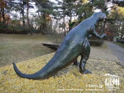 テコドントサウルスの背中