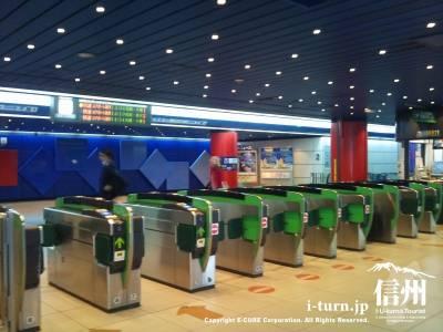 新千歳空港駅の改札