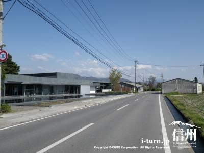 館前の道路