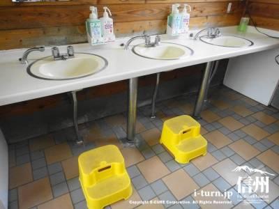 洗面台に踏み台