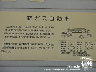 薪ガス自動車の説明