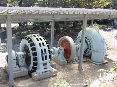 横軸水車発電機