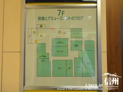 7階フロアマップ