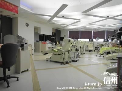 明るい献血室