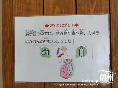 エルツおもちゃ博物館の注意