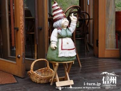 エルツおもちゃ博物館のカフェRUHA店頭