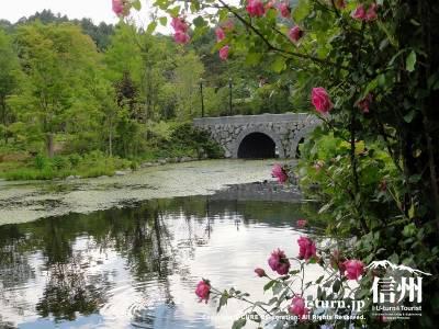 ローズガーデンと薔薇と石橋Ⅰ