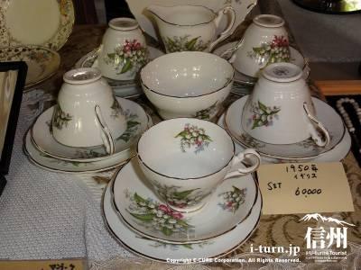 軽井沢レイクガーデンショップのコーヒーカップ&ソーサーⅡ