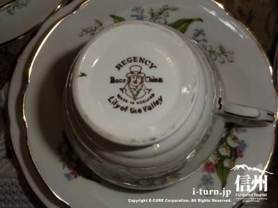 軽井沢レイクガーデンショップのコーヒーカップ&ソーサーⅣ