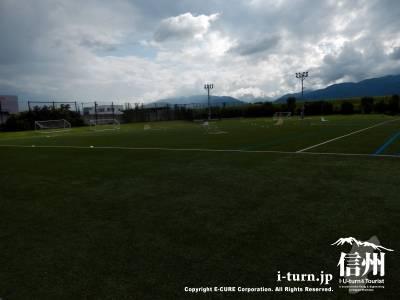 とても環境の揃ったサッカー場です