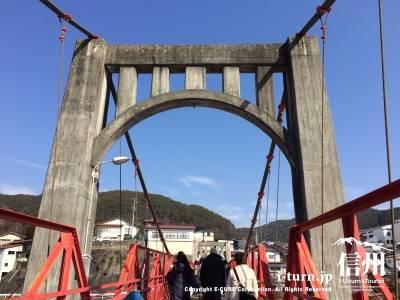 歴史のありそうな古い橋