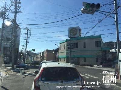 本町という信号です