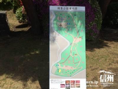 公園案内図がありました