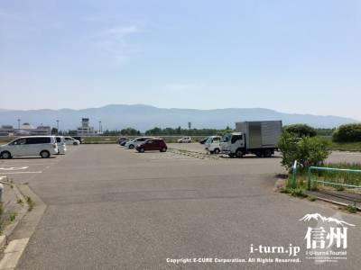 最寄りの駐車場は競技スポーツゾーン2号Pというところ