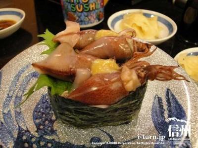 氷見きときと寿し松本店|有名な氷見の回転寿司が来た|松本市平田