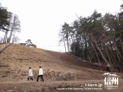 疑似御柱|木落とし坂に設置される「なんちゃって御柱」|下諏訪町東俣
