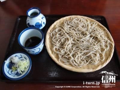 そば処 福寿|ホスピタリティ溢れた国産石挽き蕎麦の店|松本市並柳