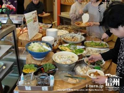 ナチュラルバイキングレストラン菜々ちゃん|駒ヶ根シルクミュージアム内のレストラン|駒ヶ根市東伊那
