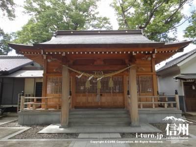 布制神社|千年超えの由緒ある神社、北野天満宮の参拝も|長野市篠ノ井