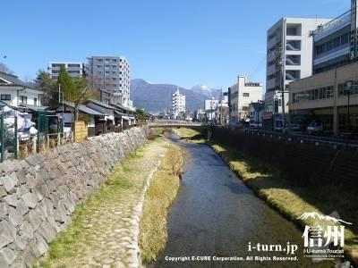 千歳橋・中の橋・一ツ橋|街の景観を創る女鳥羽川の橋|松本市