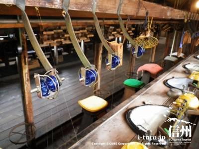 たてもの野外博物館 松本市歴史の里(5)|昔ながらの糸ひき実演も行われている旧昭和興業製糸場|松本市島立