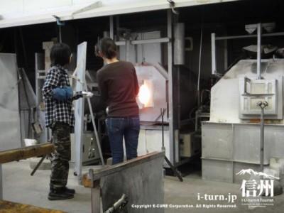 あづみ野ガラス工房|吹きガラス体験|安曇野市豊科