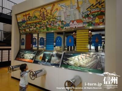 大町エネルギー博物館【2】|源泉かけ流しの足湯がある博物館|大町市平