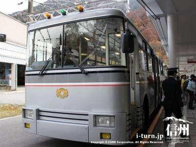 関電トンネルトロリーバス|電気で走る日本唯一のトロバス|大町市平~富山県中新川郡
