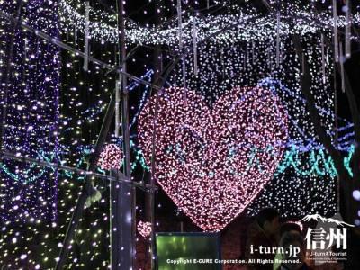 あづみの公園【大町・松川地区】|サウンド・オブ・イルミネーション'11~'12|大町市常盤
